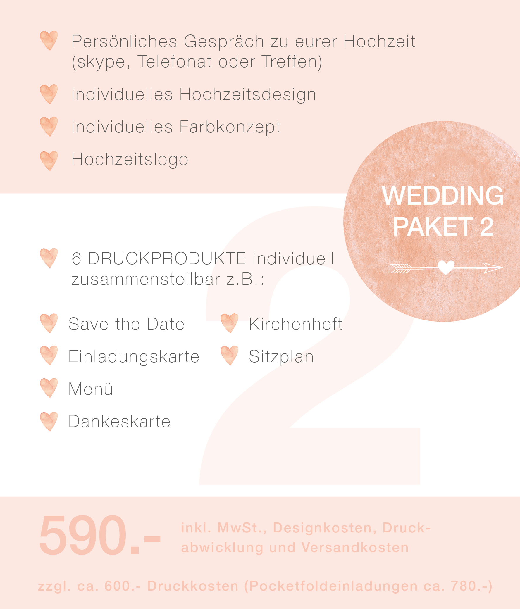 confettiandcream wedding paket 2